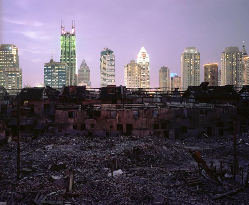 Shanghai Falling (Fuxing Lu Demolition), 2002