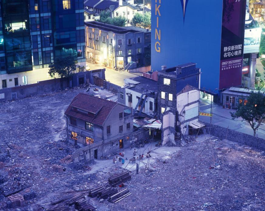 Neighborhood Demolition, Yuyuan Lu, 2005