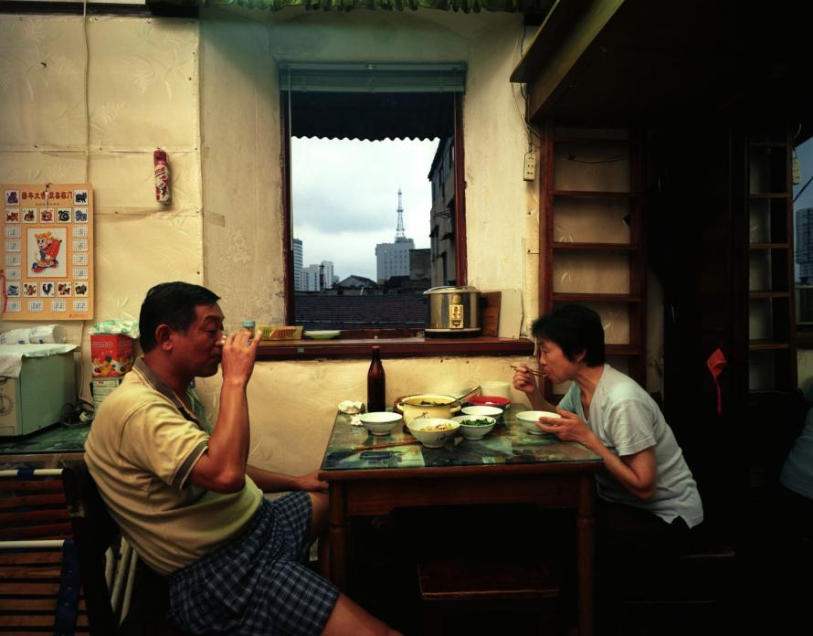 Yan Family Apartment, Liyang Lu, 2004