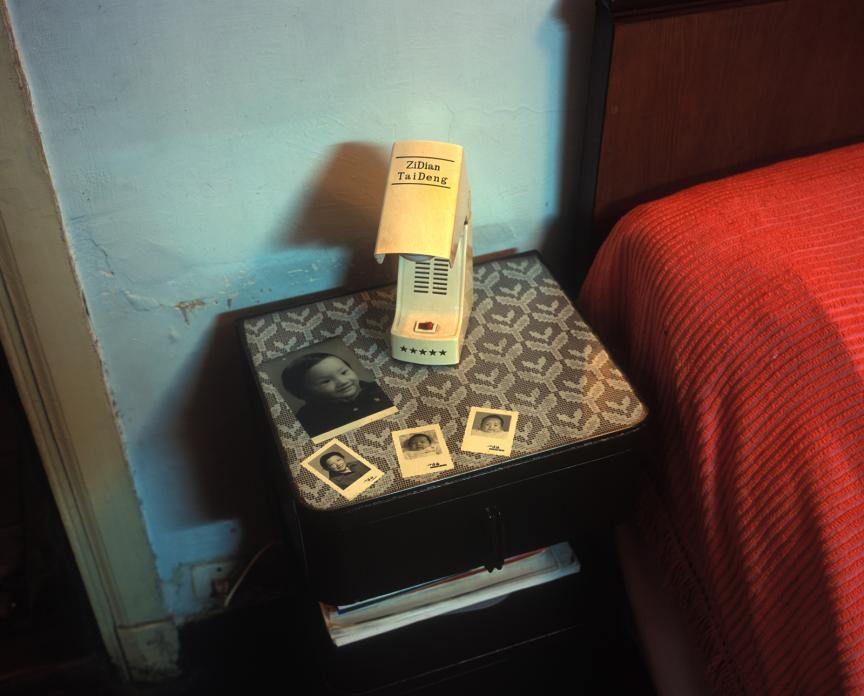 Bedside Table, Yanqing Lu Apartment, 2001