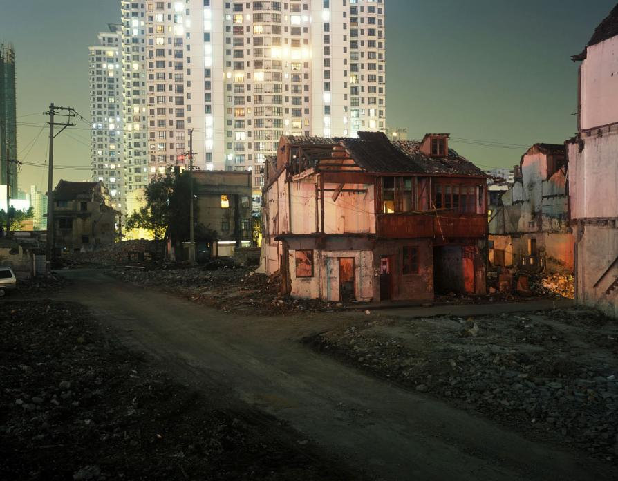 Neighborhood Demolition, Zhoupu Lu, 2006