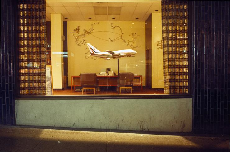 China Airlines Office, San Francisco, 1981