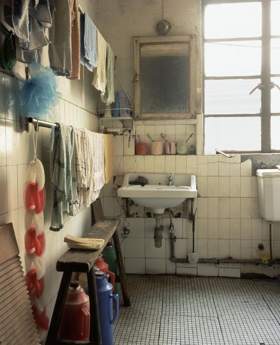 Shared Bathroom, Julu Lu, 2002